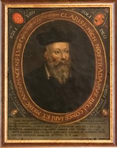 Nostradamus. Photo from Jacqueline Poggi, Creative Commons