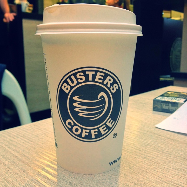 Buster's Coffee cup
