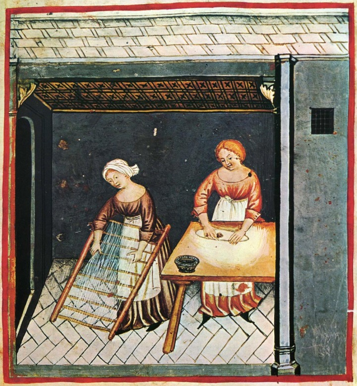 Pasta making from the 15th century