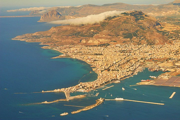 Trapani, Sicily. Photo from Jadwiga, Creative Commons