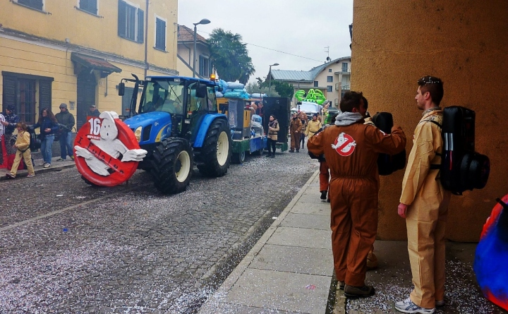 Carnevale di Santhià. Who you gonna call?