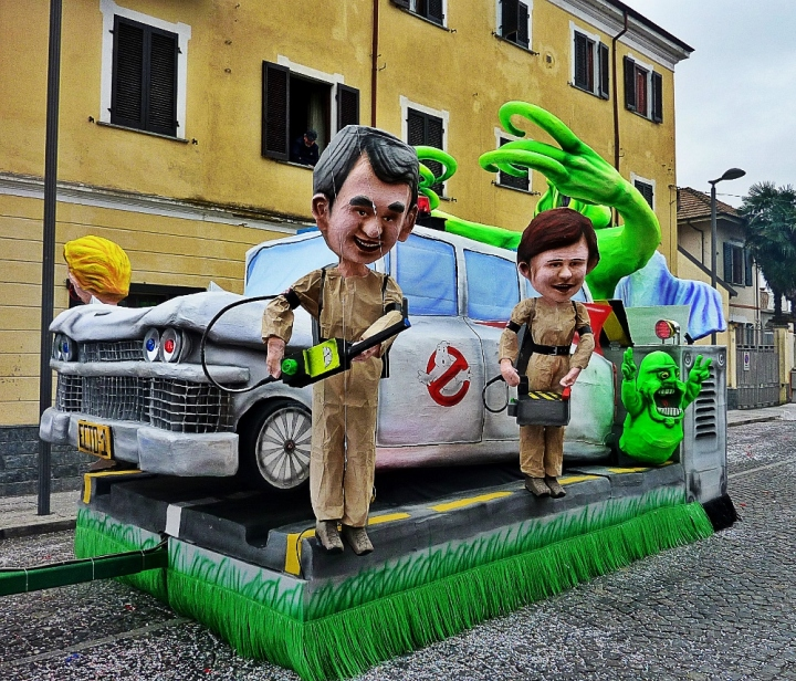 Carnevale di Santhià - the Ghostbusters were there!