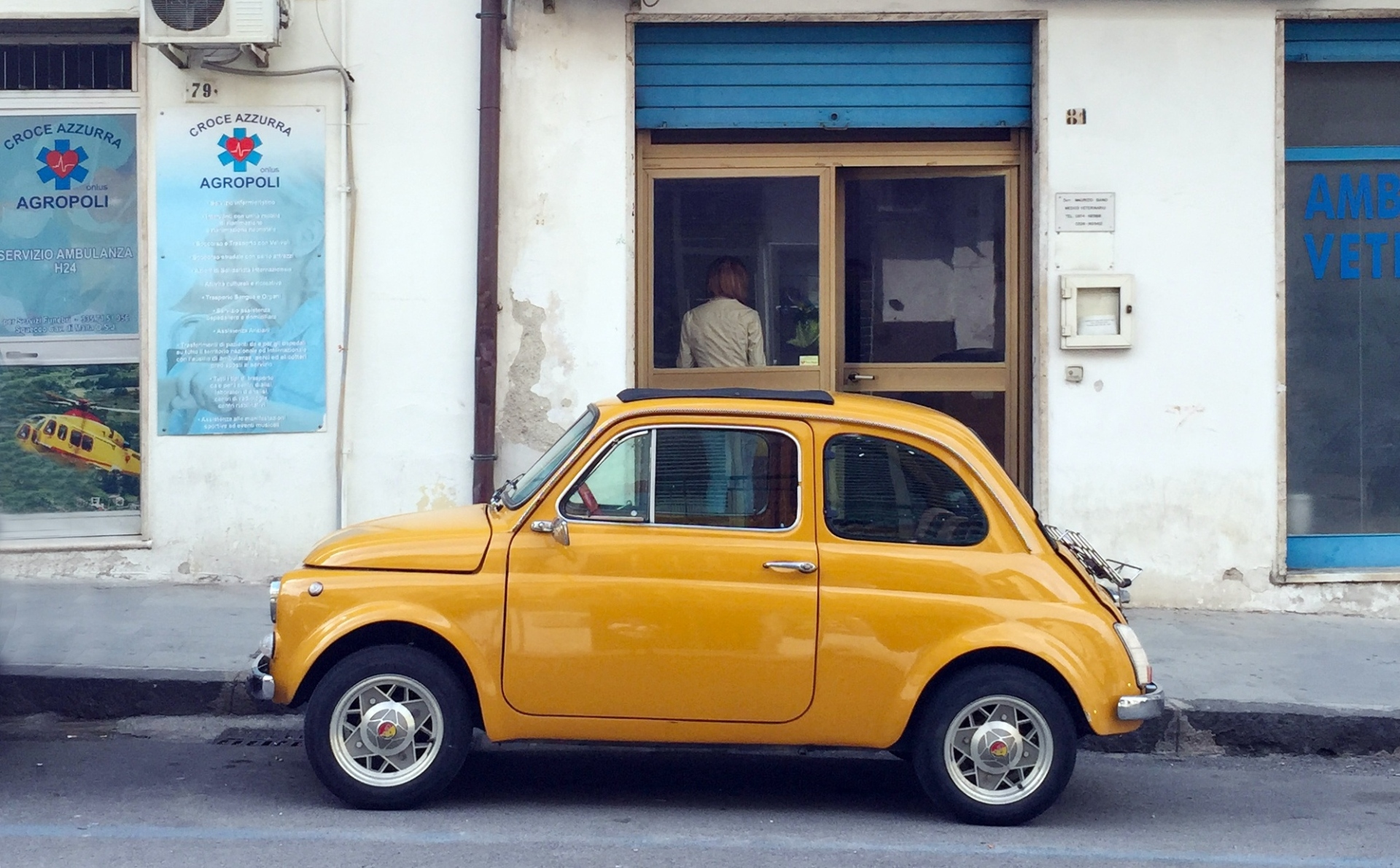 Fiat 500. Photo from Unsplash