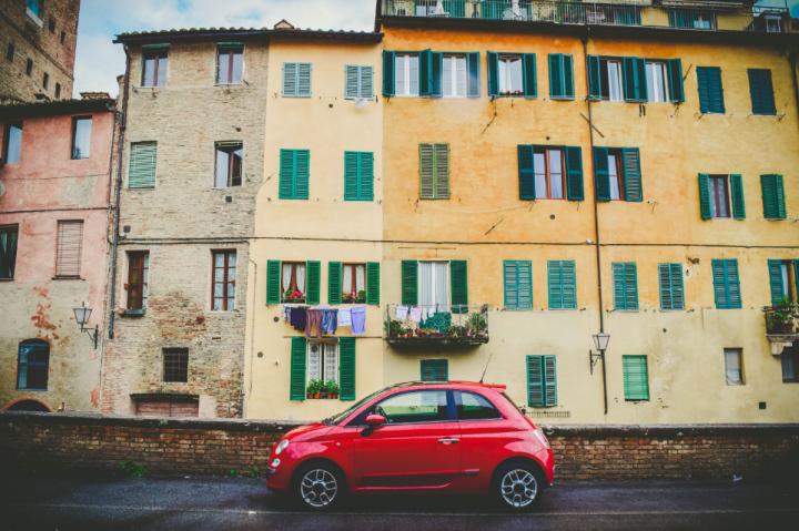 Italian car. Photo from Unsplash