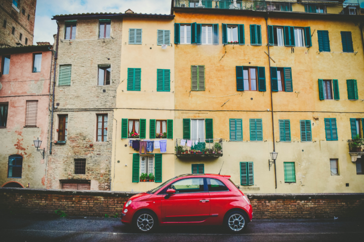 Italian car. Photo from Unsplash