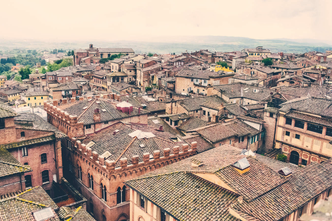 Italian rooftops. Photo by pepe nero, Unsplash