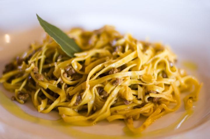 Tajarin, classic Piedmontese pasta - Umberto, CC