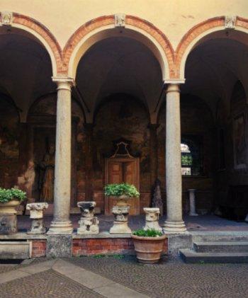 Leonardo da Vinci's vineyard and villa in Milan - © Diana Zahuranec