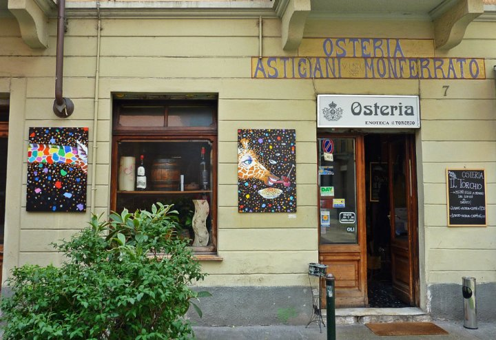 Osteria il Torchio - it's the one with the giraffe