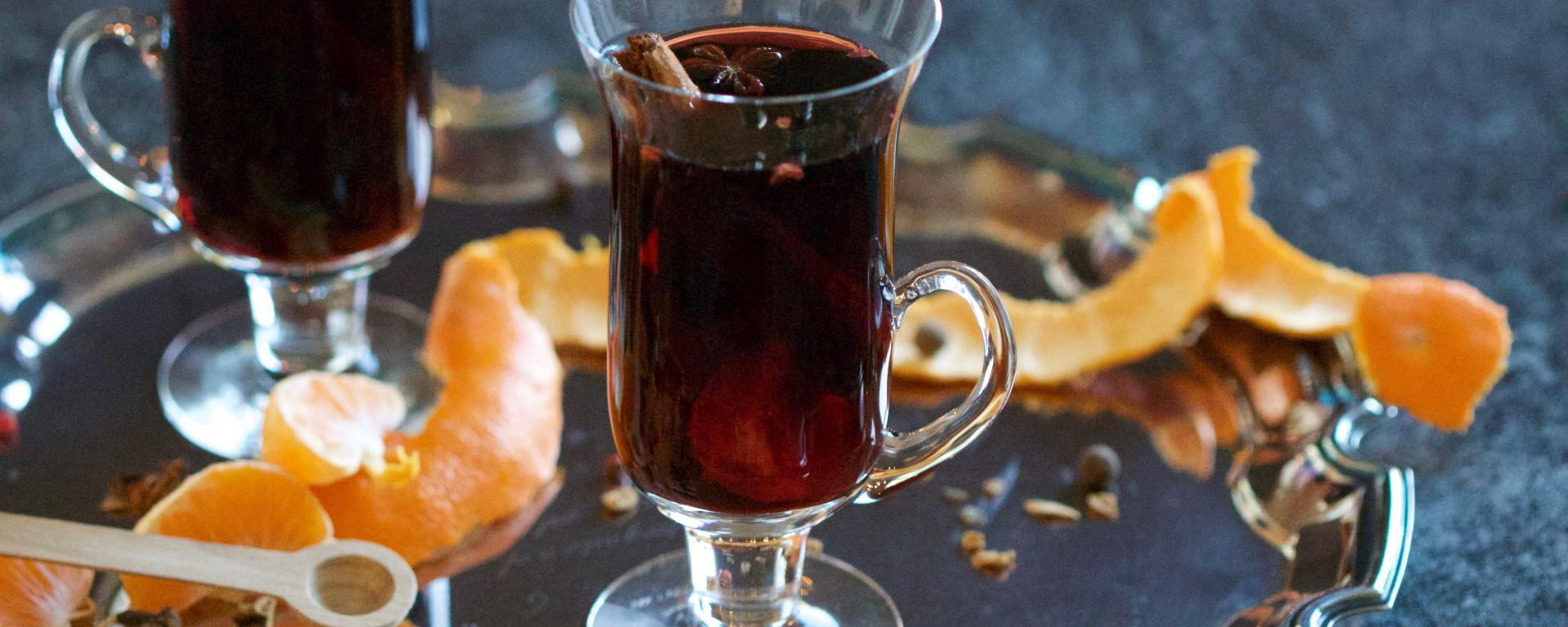 Mulled wine with port
